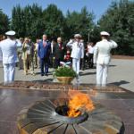 День Памяти и скогрби в Ташкенте